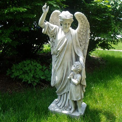 design toscano guardian angel childs prayer   angels
