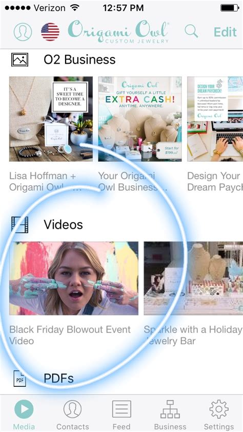 Origami Owl App - your black friday blowout event schedule origamiowlnews