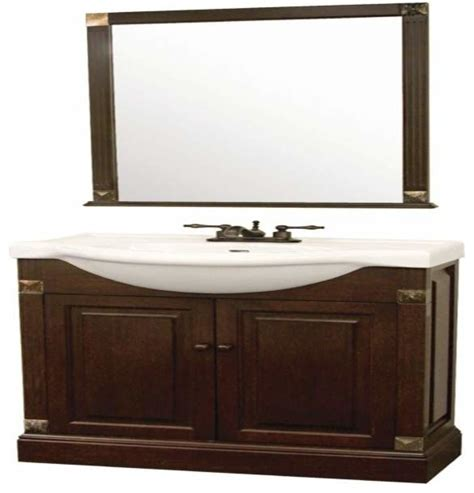 foremost salerno 22 inch vanity combo in dark cherry