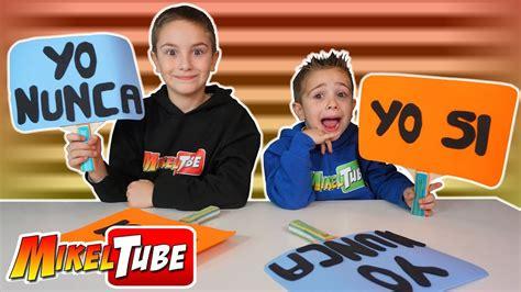 preguntas para yo nunca nunca yo nunca nunca reto de preguntas en miketube youtube