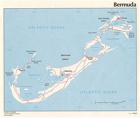 printable road map of bermuda large detailed road map of bermuda bermuda large detailed
