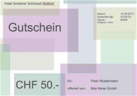 Vorlage Word Gutschein Gutschein Vorlage Gratis Muster Und Vorlagen Kostenlos