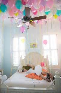 party in your bedroom 25 best ideas about balloon surprise on pinterest