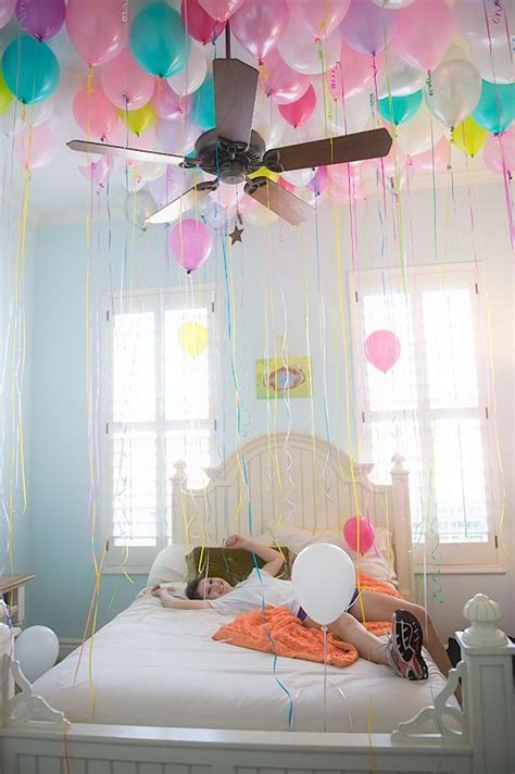 Birthday Bedroom Decoration by 17 Best Ideas About Birthday Balloon On