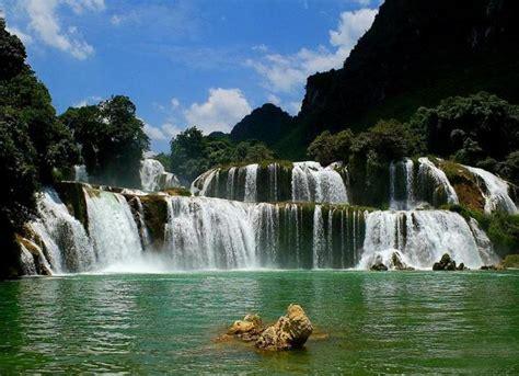 detian waterfall nanning nanning attraction