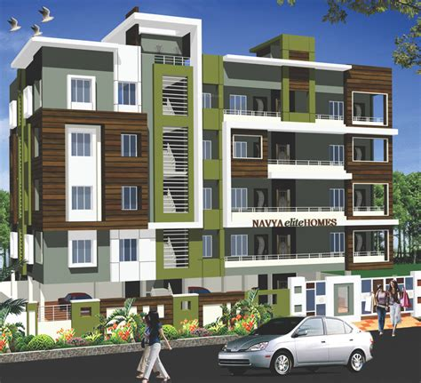 elevation image of ss constructions navya elite homes