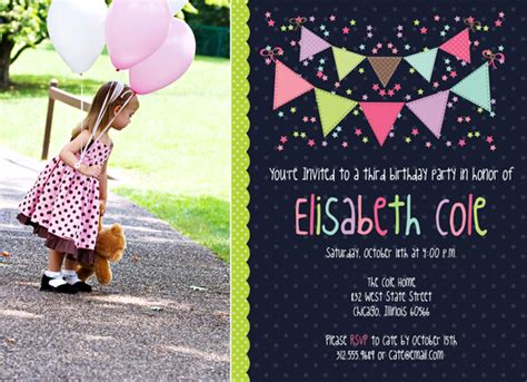birthday invitation templates photoshop erin bradley designs new photoshop template bunting