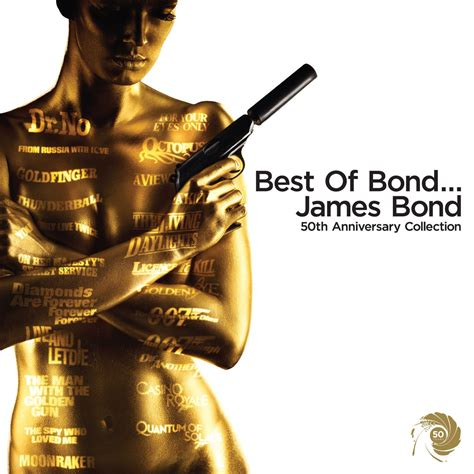 best james bond music 50 years of timeless 007 s bond themes and score