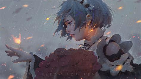 anime girl wallpaper reddit rem re zero 1920x1080 top reddit wallpapers