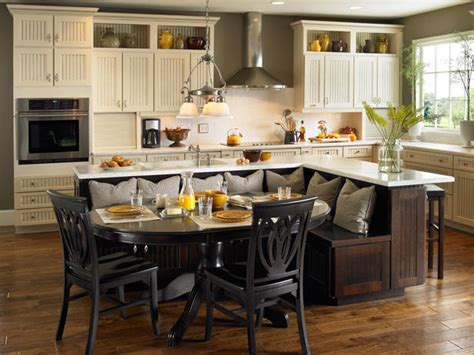 Kitchen Island Ideas With Table Kitchen Island Table Ideas And Options Hgtv Pictures