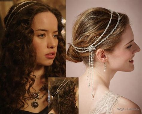 reign cw show hair weave beads 1000 images about reign headbands crowns on pinterest