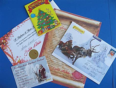 le lettere di babbo natale lapponia le lettere di babbo natale anche per i bambini
