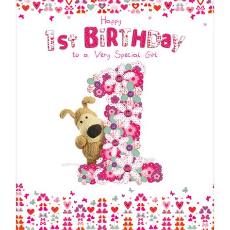 happy 1st birthday images boofle happy 1st birthday greeting card cards