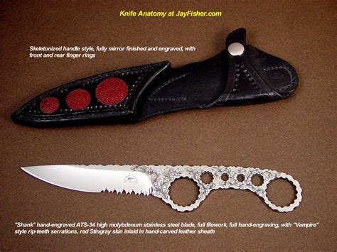 knives names knife anatomy parts names by fisher