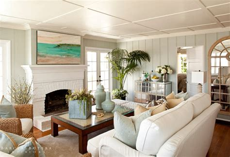 Tranquility Paint Color by Small Shingle Beach Cottage With Coastal Interiors Home