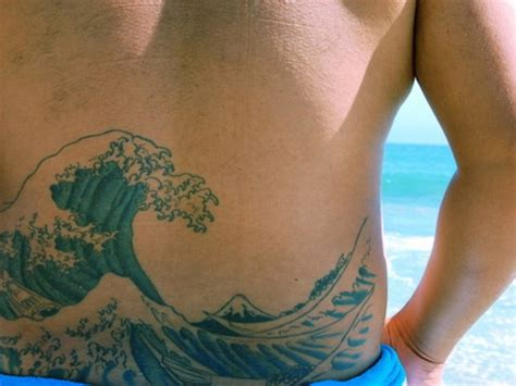wave tattoo meaning 40 waves tattoos tattoofanblog