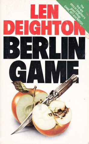 len berlin berlin bernard samson 1 by len deighton reviews