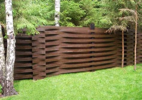 backyard fence design 25 beautiful fence designs to improve and accentuate yard landscaping ideas