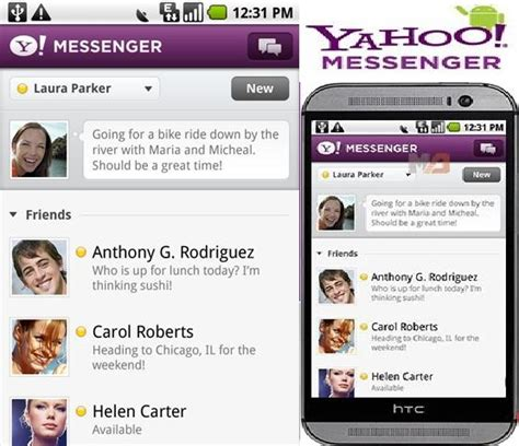 yahoo apk yahoo messenger apk 1 8 8 free for android