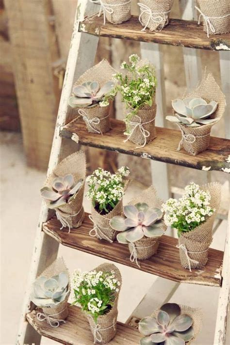 decorar macetas con arpillera macetas hechas con tela de yute o burlap arpillera y