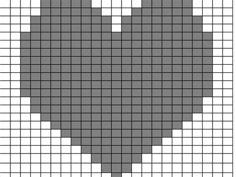 heart pattern on graph paper adding motifs to plain knitting loveknitting blog