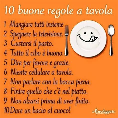 regole a tavola 10 buone regole a tavola finger food more