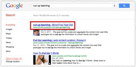 google images url search google replacing titles with urls why titles matter