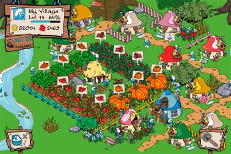 home design store jogo smurf s village farmville med smurfar iphoneguiden se