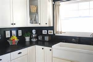 Painted Backsplash Ideas Kitchen by Remodelaholic 15 Diy Kitchen Backsplash Ideas