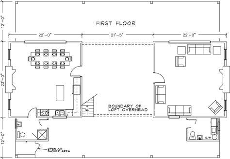 dogtrot floor plans dog run house plans numberedtype
