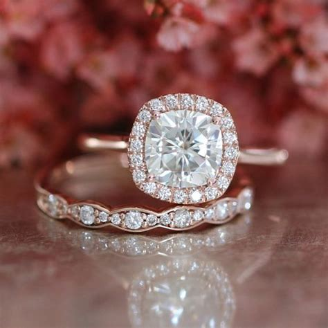 Band Engagement Moissanite Ring Wedding by The Only Engagement Ring Guide You Will Need Ring