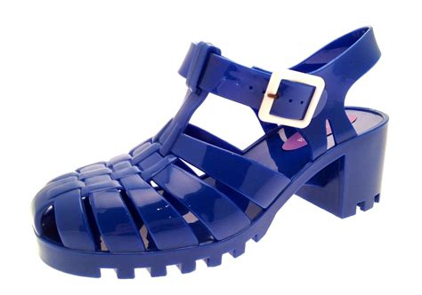jelly shoes flat womens heel jelly cut out sandals flat jellies