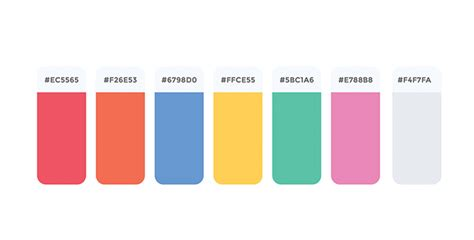Web Page Color Palette web color palette vectorhq
