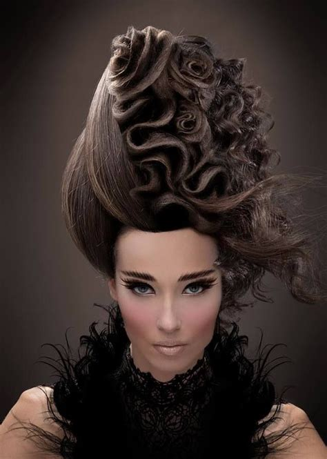 about avant garde hair styles hair roses by ziortza zarauza of spain hotonbeauty www