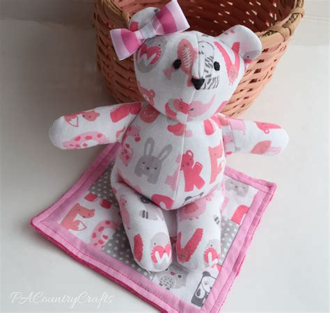 pattern for baby clothes teddy bear memory bear pattern and tutorial make this adorable bear