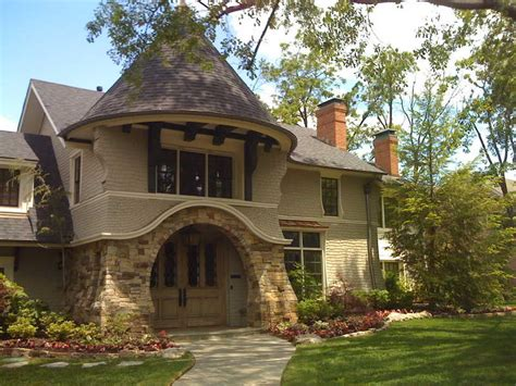 Prairie Style Homes Unique Feature Of Craftsman Style