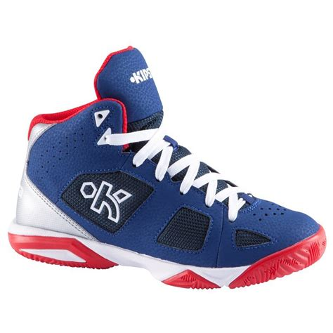decathlon basketball shoes strong 300 basketball trainers navy decathlon