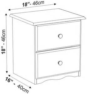 nightstand dimensions 2 drawer nightstand the bronx collection by palace imports