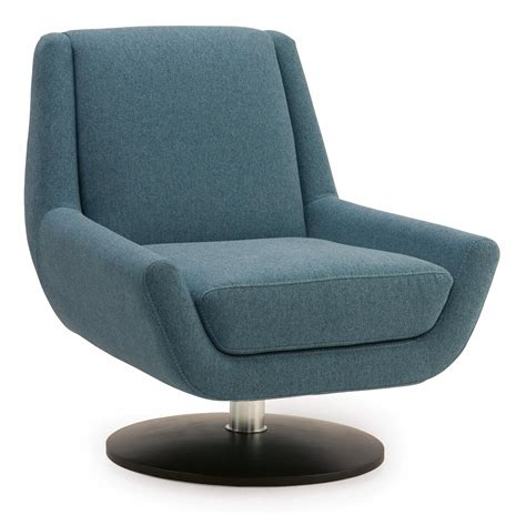 contemporary swivel armchair palliser plato 70017 96 contemporary swivel chair with