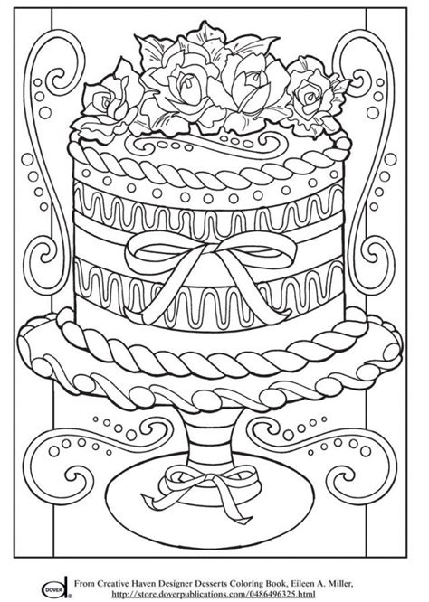 advanced coloring pages pinterest realistic wedding cake advanced coloring pages for grown