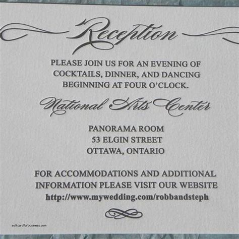 Wedding Announcement Reception Wording by Wedding Invitation Wedding Reception Invitation