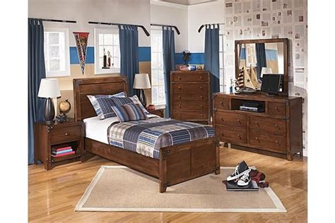 The Delburne Youth Panel Bedroom Set From Ashley Furniture Furniture Homestore Bedroom Sets