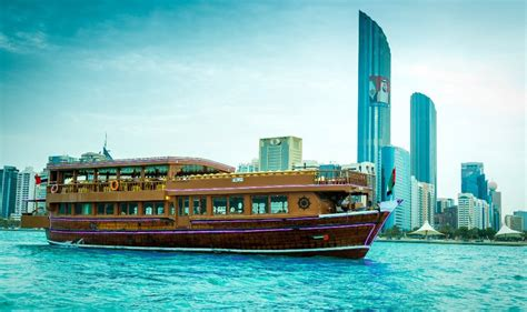 catamaran sunset cruise in abu dhabi abu dhabi dhow cruise dinner daily sharing boat