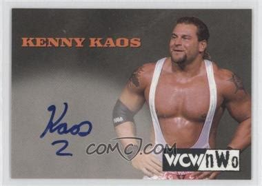 Kaos Rookie 1999 topps wcw nwo nitro authentic signatures keka