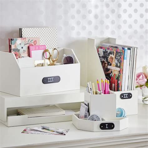 wooden desk accessories wooden desk accessories pbteen