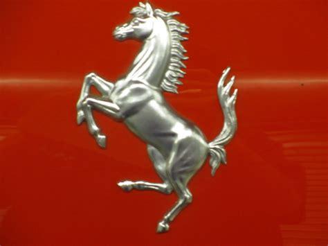 ferrari horse logo ferrari horse logo silver