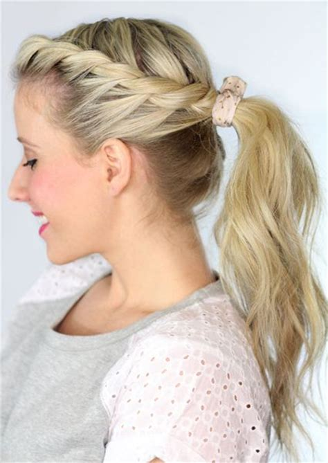 Types Of Ponytails For Hair by Various Styles Of Trendy Ponytail Hairstyles For