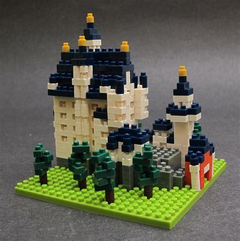 Lego Nano Block nanoblock micro sized building blocks review the gadgeteer