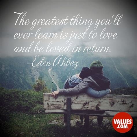 8 Inspirational Sayings by An Inspirational Quote By Ahbez From Values