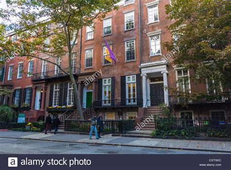 buy house in new york city new york city ny usa townhouses row house street scenes stock photo royalty free